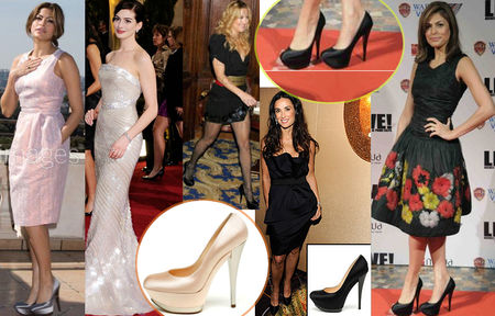 Fashiontribes.com Fashion Blog - Style, Beauty, Luxury Lifestyle & Shopping: Red Carpet Worthy Sweet-yet-Edgy Pumps