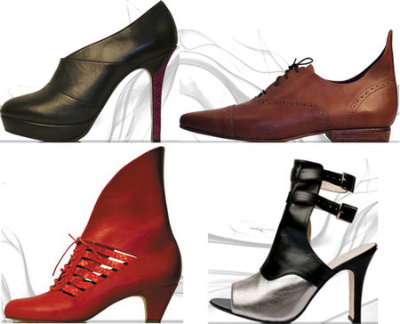 Fashiontribes.com Fashion Blog - Style, Beauty, Luxury Lifestyle & Shopping: London Calling! It's Red by Wolves Shoes.