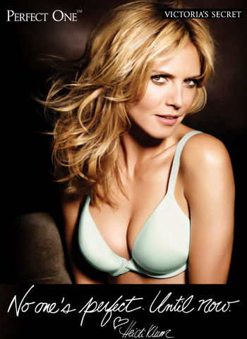 Heidi klum perfect one bra