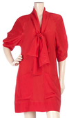 Red Stella McCartney bow tie dress