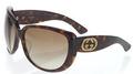 Designer tortoiseshell sunglasses