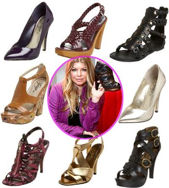 Fashiontribes.com Fashion Blog - Style, Beauty, Luxury Lifestyle & Shopping: Walk in Fergie's Stylish Shoes...Literally