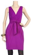 Bright pink magenta cocktail dress