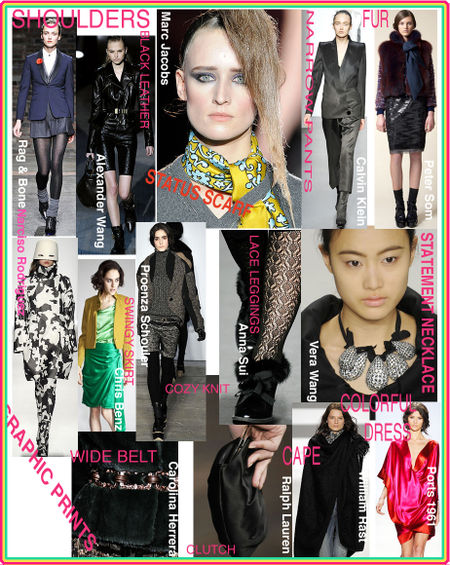 Fall 2009 must haves