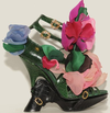 Roger vivier floral platform shoes