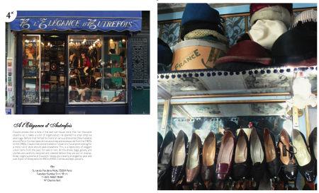 Paris vintage shop store