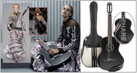 Fashiontribes.com Fashion Blog - Style, Beauty, Luxury Lifestyle & Shopping: What a Chic Guitar! Merci, C'est Chanel.
