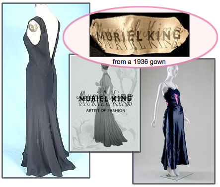 Muriel king dresses designs