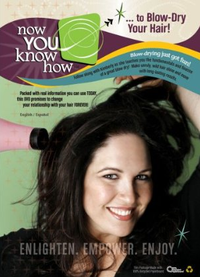 How to blow out your hair video dvd