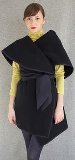 Harvey faircloth kimono wrap jacket