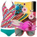 Cute swimwear beach fashion
