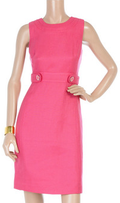 Bright pink sheath dress