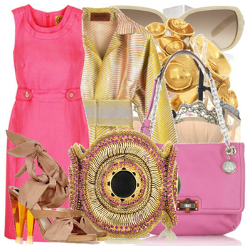 Fashiontribes.com Fashion Blog - Style, Beauty, Luxury Lifestyle & Shopping: Think Pink in a Bombshell Sheath Dress
