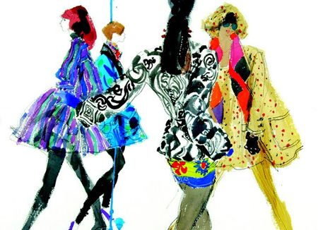 Fashiontribes.com Fashion Blog - Style, Beauty, Luxury Lifestyle & Shopping: Why Fashion Illustration is In, and Photography Out