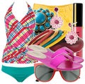 Cute swimwear beach fashion