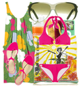 Cute swimwear resort