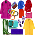 Bright colors fashion trend