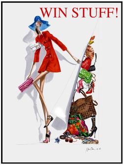 Fashion illustration giveaways