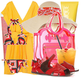 Cute beach resortwear