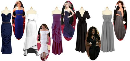 Red carpet gowns for less