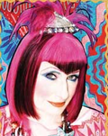 Zandra rhodes illustration
