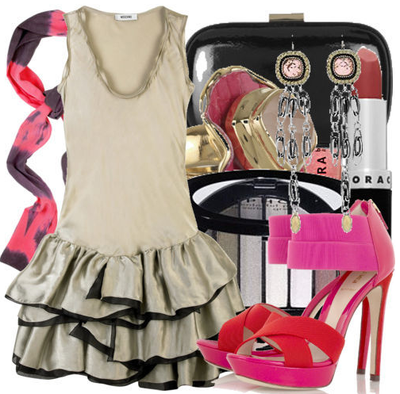 Fashiontribes.com Fashion Blog - Style, Beauty, Luxury Lifestyle & Shopping: Slip on Your Red & Pink Dancin' Shoes and Party