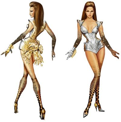 Thierry mugler beyonce costumes