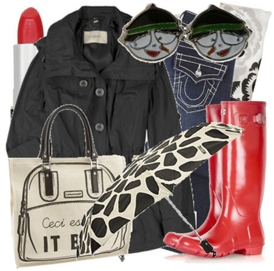 Fashiontribes.com Fashion Blog - Style, Beauty, Luxury Lifestyle & Shopping: Cheery Cherry Wellies Will Have You Singin' in the Rain
