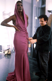 Azzedine alaia grace jones