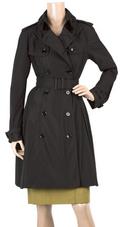 Classic black trenchcoat