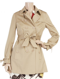 Cute short trench coat