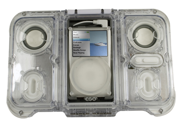 Waterproof iPod Speaker Case