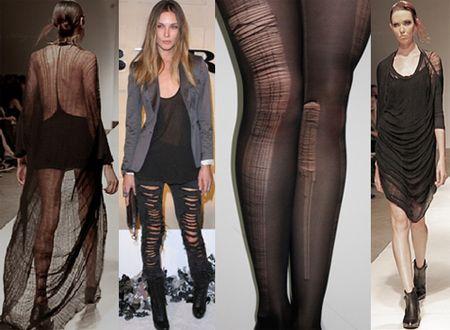 Shredded fashion trend