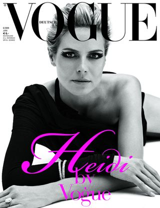 Heidi Klum German Vogue Cover
