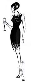 Custom fashion illustration