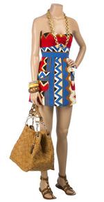 Tribal print playsuit