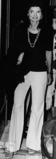 Jackie o white summer jeans pants