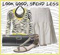 Zebra cardigan outfit