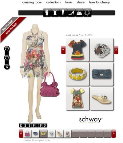 Schway online dressing room