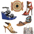 Tribal accessories shoes