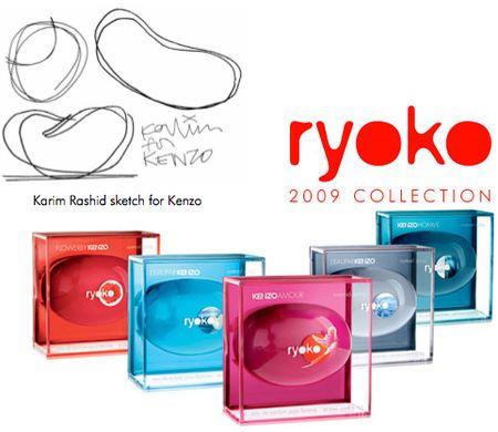 Kenzo ryoko fragrance pebbles