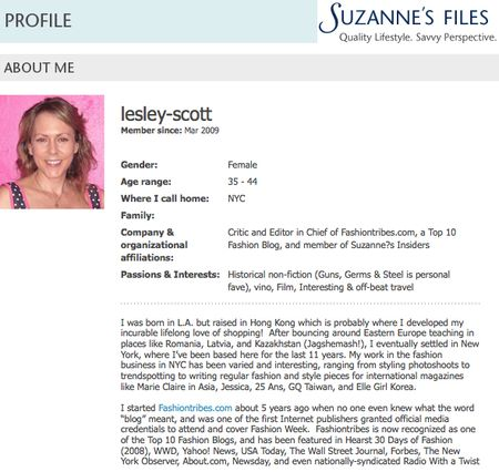 Suzannes files insiders