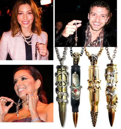 Fashiontribes.com Fashion Blog - Style, Beauty, Luxury Lifestyle & Shopping: Bullets Refashioned into Fab Fashion Jewelry