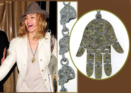 Madonna loree rodkin necklace