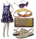 Cute purple sun dress look