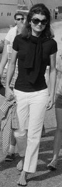 Jackie o white denim jeans pants