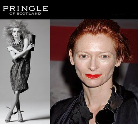 Tilda swinton pringle of scotland