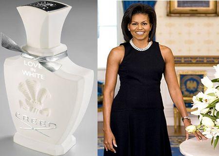 Creed love in white michelle obama