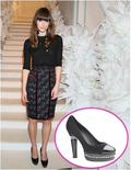 Keira knightley chanel shoes