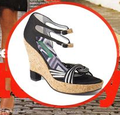 Mink vegan shoes sandals
